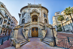 Palais De Justice - Courthouse, Monaco Stock Photo