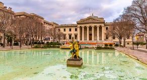 Palais de justice de Marseille - France royalty free stock photo