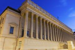 Palais de justice historique de利昂 免版税库存图片