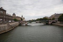 Palais de Justice, Ile de Λα Cite, Παρίσι - Γαλλία Στοκ Εικόνες