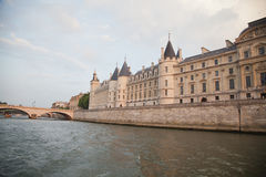 Palais de Justice, Ile de Λα Cite, Παρίσι - Γαλλία Στοκ εικόνες με δικαίωμα ελεύθερης χρήσης