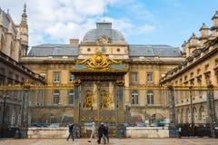Palais de Justice Ile de Λα Cite στο Παρίσι Στοκ φωτογραφία με δικαίωμα ελεύθερης χρήσης