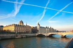 Palais de Justice, Ile de la Cite, París - Francia Imagenes de archivo