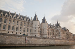 Palais de Justice, Ile de la Cite, París - Francia Imagen de archivo libre de regalías