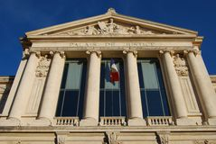 Palais de Justice law courts, Nice, France Royalty Free Stock Images