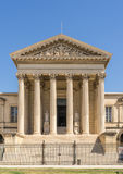 Palais de Justice. In Montpellier royalty free stock images