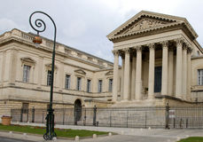 Palais de Justice, Montpellier Royalty Free Stock Photo