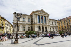 Palais de Justice in Nice in France Royalty Free Stock Images