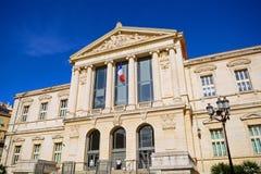 Palais DE Justice, Nice, Frankrijk stock afbeeldingen