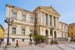 Palais DE Justice in Nice, Frankrijk stock foto