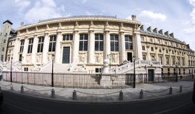 Palais DE justice Parijs Frankrijk Royalty-vrije Stock Foto's