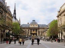 Palais de Justice, Paris, Frankreich lizenzfreies stockbild