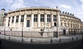 Palais de justice Paris Frankreich Lizenzfreie Stockfotos
