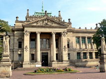 Palais de justice, Strasbourg images libres de droits