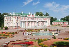 Palais de Kadriorg à Tallinn, Estonie Photos stock