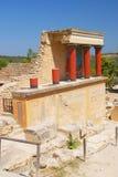 Palais de Knossos Photos libres de droits