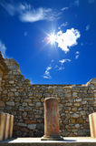 Palais de Knossos palais chez Crète, Grèce Knossos Image stock