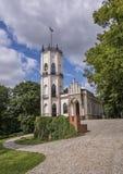 Palais de Krasinski dans Opinogora Photo stock