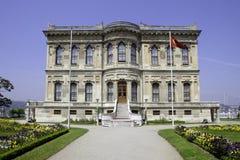 Palais de Kucuksu à Istanbul Images stock