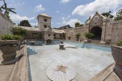 Palais de l'eau de Taman Sari de Yogyakarta sur l'île de Java, Indonésie Photographie stock libre de droits