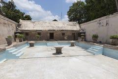 Palais de l'eau de Taman Sari de Yogyakarta sur l'île de Java, Indonésie Photographie stock