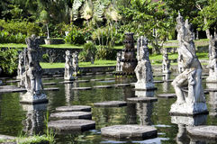 Palais de l'eau de Tirta Gangga dans Bali est photos stock