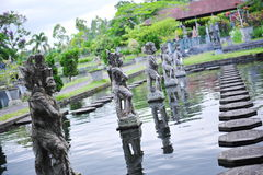 Palais de l'eau de Tirtaganga Photo stock