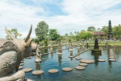Palais de l'eau de Tirtagangga Photographie stock libre de droits