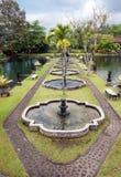 Palais de l'eau de Tirtaganga dans Bali Images stock