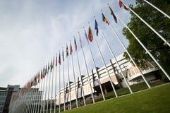 Palais de l'Europe à Strasbourg Image stock