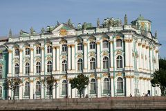 Palais de l'hiver à St Petersburg Photos stock