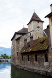 Palais de l'Ile in Annecy Royalty Free Stock Photo
