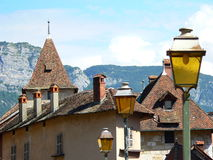 Palais de l Ilha Annecy (France) Foto de Stock Royalty Free