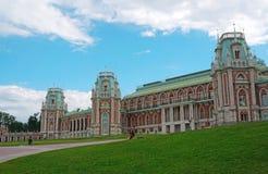 Palais de l'impératrice russe Catherine II à Moscou Photos stock