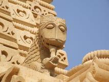 Palais de l'Inde dans Jaisalmer : Palais de saga d'Amar Photos stock