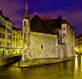 Palais de L'isle, Annecy, France Stock Photos