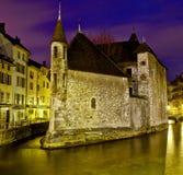 Palais de L'isle, Annecy, Frankreich Stockfotos