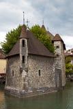 Palais de l'Isle Jail, Annecy, France Royalty Free Stock Photo