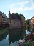 The palais de l'isle. And thiou river Stock Photography