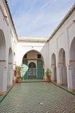 Palais de la Bahia (Bahia Palace) Royalty Free Stock Images