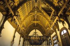 Palais de la Benedictine, city of Fecamp, France Stock Images