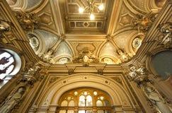 Palais de la Benedictine, city of Fecamp, France Royalty Free Stock Images