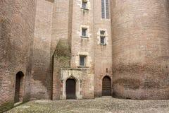 Albi, France. The Palais de la Berbie in Albi, France, now the Toulouse-Lautrec Museum Royalty Free Stock Photos