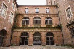 Albi, France. The Palais de la Berbie in Albi, France, now the Toulouse-Lautrec Museum Royalty Free Stock Image