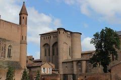 Palais de la Berbie, Albi. Palais de la Berbie in the historic city of Albi royalty free stock photography