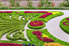 Palais de la Berbie Gardens a Albi, il Tarn, Francia Fotografie Stock