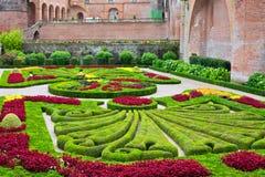 Palais de la Berbie Gardens at Albi, Tarn, France Stock Photography