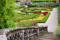 Palais de la Berbie Gardens at Albi, Tarn, France Stock Images