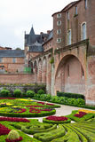 Palais de la Berbie Gardens at Albi, Tarn, France Royalty Free Stock Photo