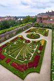 Palais de la Berbie Gardens at Albi, Tarn, France. ALBI, FRANCE - AUGUST 09: Palais de la Berbie Gardens at Albi, Tarn, France on August 09, 2014. Beautiful Stock Photos